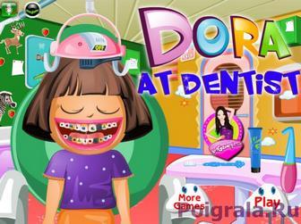 Игра Даша у дантиста