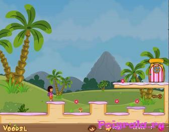 Картинка к игре Даша собирает цветки