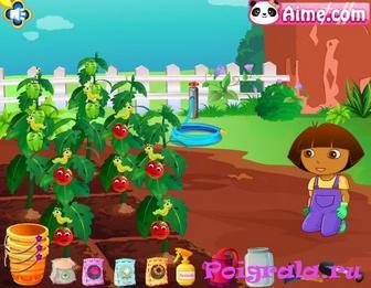 Картинка к игре Даша на ферме