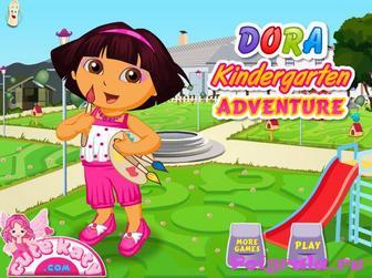 Игра Даша в детском саду