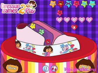 Картинка к игре Даша дизайн обуви