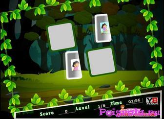 Картинка к игре Dora memory match