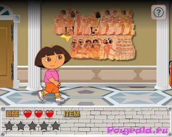 Картинка к игре Даша в музее