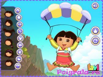 Картинка к игре Даша на парашюте