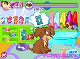 Картинка к игре Даша ухаживает за животными