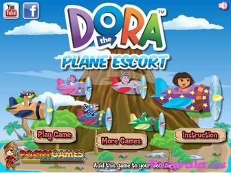 Игра Даша летает на самолете