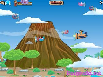 Картинка к игре Даша летает на самолете