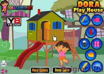 Картинка к игре Украшаем домик с Дашей