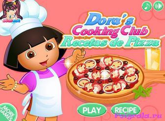 Даша делает пиццу картинка 1