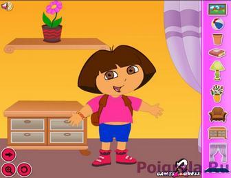 Картинка к игре Дора декор комнаты