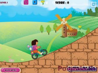 Картинка к игре Велосипед Даши