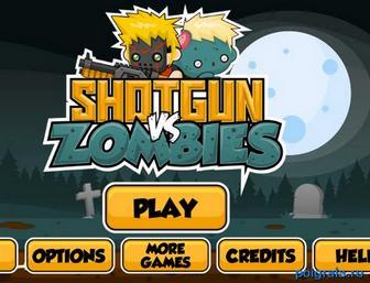 Игра Дробовик против зомби
