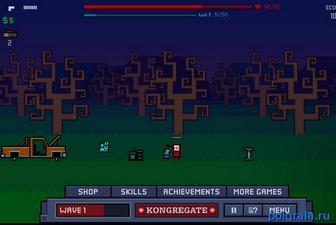 Картинка к игре Чувак и зомби