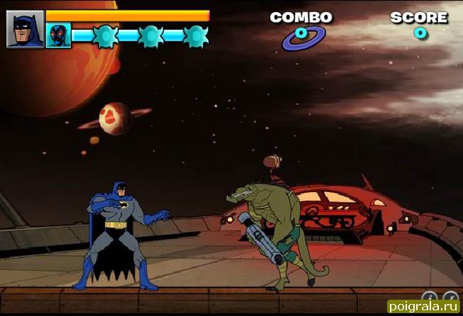 Картинка к игре Бетмен драки