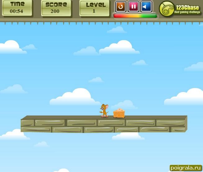 Картинка к игре Джерри прыгает с парашютом
