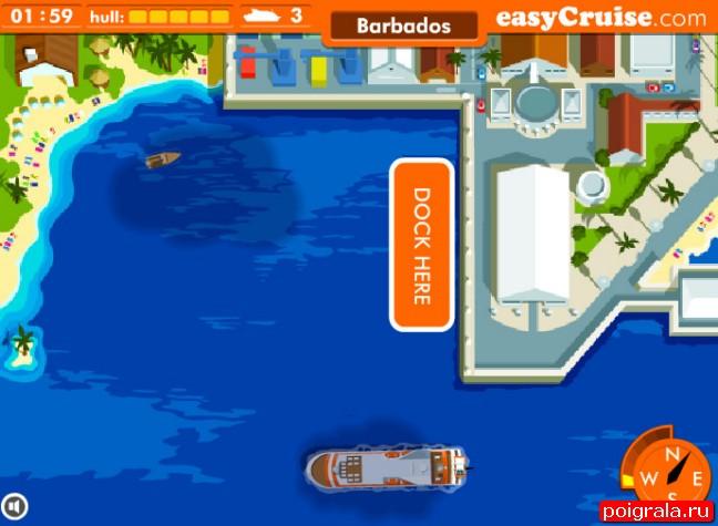 Картинка к игре Парковка круизного лайнера