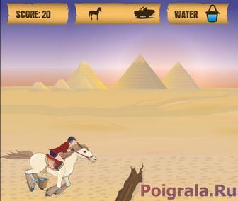 Картинка к игре Египетская лошадь