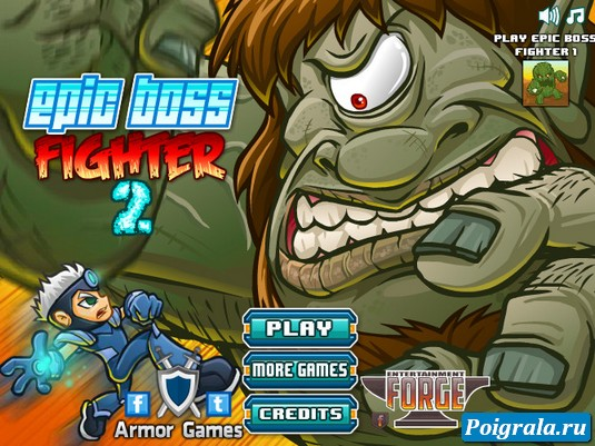 Игра Epic boss fighter 2