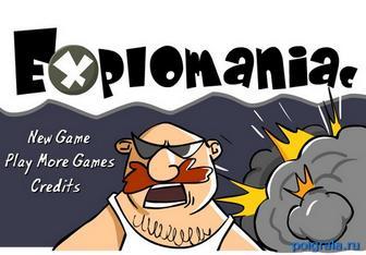 Игра Explomaniac