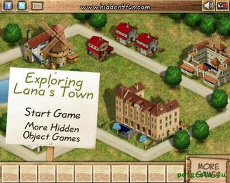 Игра Поиск в городке Ланы