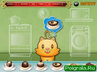 Картинка к игре Накорми кота