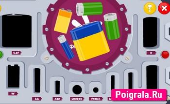 Картинка к игре Фиксики, батарейки
