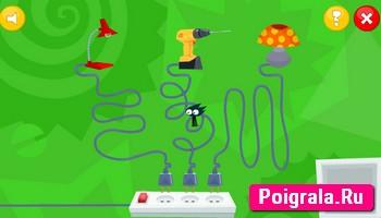 Картинка к игре Фиксики: кабельный салат