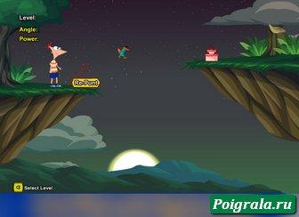 Картинка к игре Удар по утконосу Перри