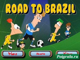 Финис и Ферб, дорога в бразилию картинка 1