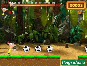 Картинка к игре Финис и Ферб, дорога в бразилию