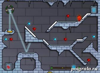 Картинка к игре Огонь вода 3 в ледяном храме