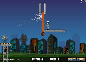 Картинка к игре Огненная зомбука