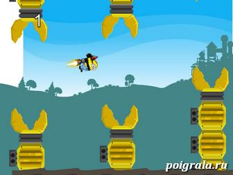 Летающий миньон картинка 1