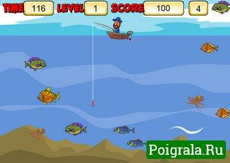 Картинка к игре Ловим рыбу на удочку