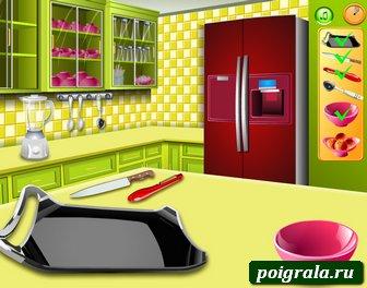Картинка к игре Кухня Сары, фруктовый коктейль