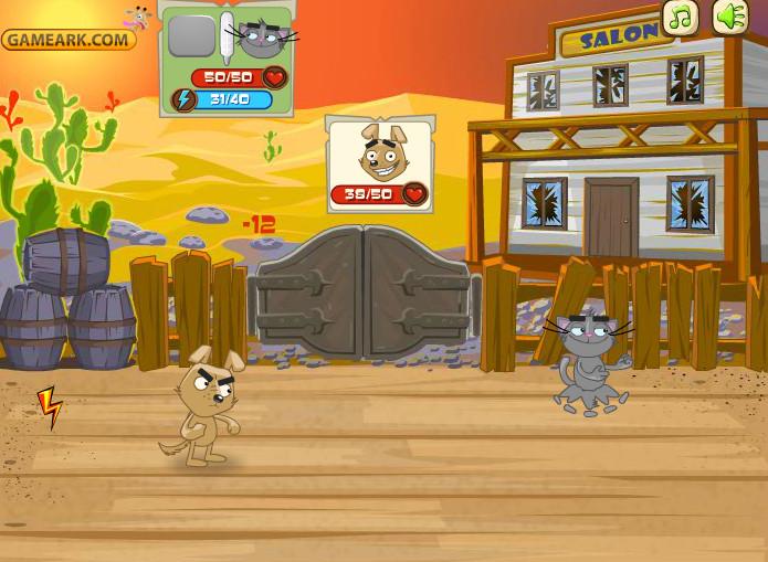 Картинка к игре Пушистые бои 2, реванш