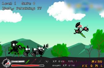 Картинка к игре Рыцарь на коне 2