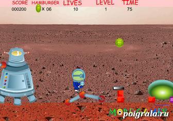 Игра Миньон космонавт