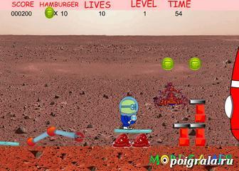 Картинка к игре Миньон космонавт