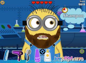 Картинка к игре Уход за бородой миньона
