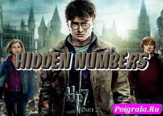 Игра Гарри Поттер, скрытые цифры