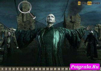 Картинка к игре Гарри Поттер, скрытые цифры