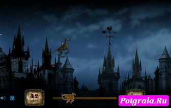 Гарри Поттер летит на Фестрале картинка 1
