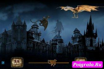 Картинка к игре Гарри Поттер летит на Фестрале