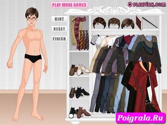 Картинка к игре Одевалка Гарри Поттера