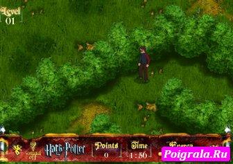 Игра Гарри Поттер в лабиринте