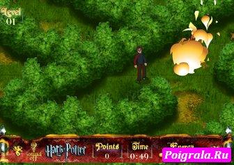 Картинка к игре Гарри Поттер в лабиринте