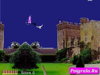 Картинка к игре Гарри Поттер стреляет по совам