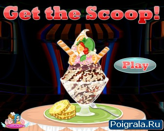 Игра Делаем мороженое сами