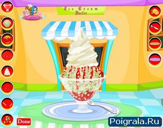 Картинка к игре Делаем мороженое сами
